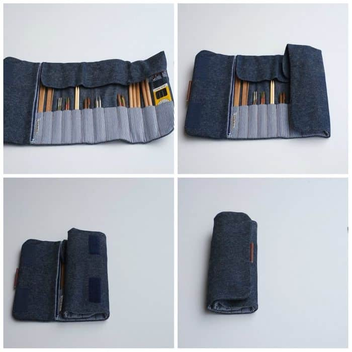 Handmade Roll Up Case by JesaBelleB on Etsy