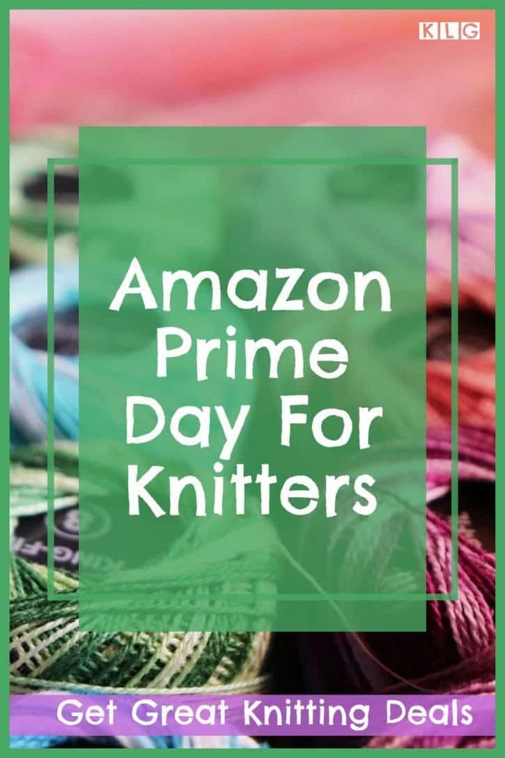 Knitting Prime Day Pin
