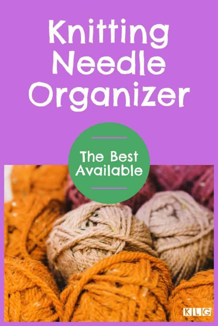 Knitting Needle Organizer Pin