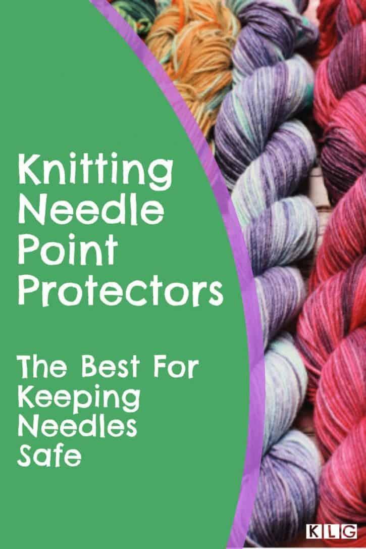 Knitting Needle Point Protectors Pin