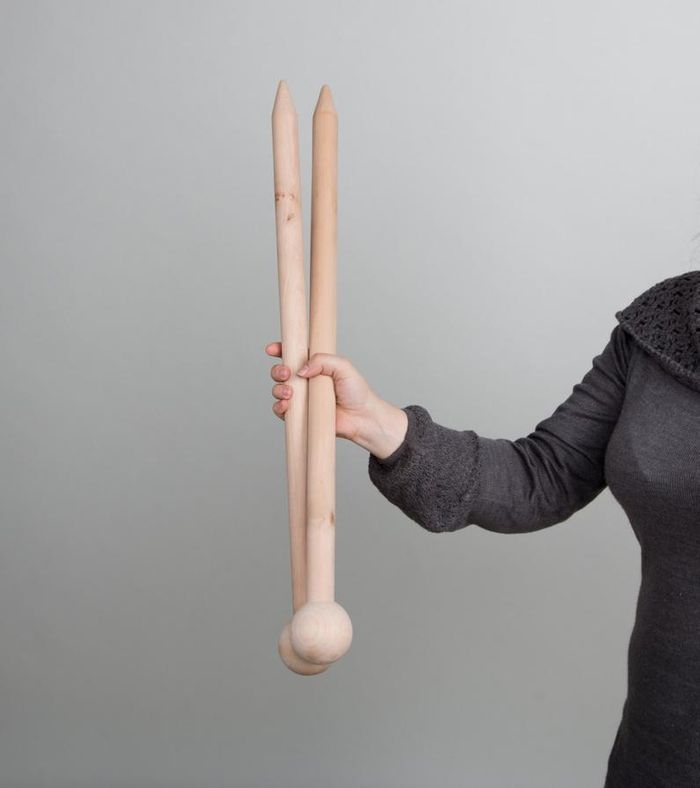 US60 30mm Giant Knitting Needles from ForKnitters on Etsy