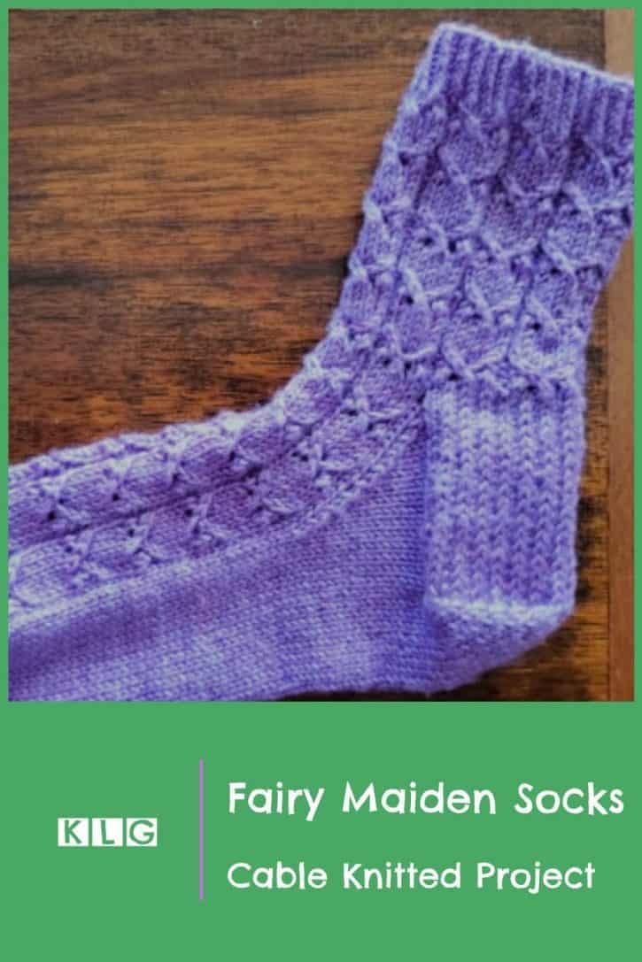Fairy Maiden Socks Pin