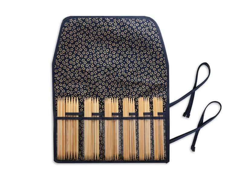 KA Seeknit Shirotake 6 inch/15cm Double Pointed Knitting Needle Set.