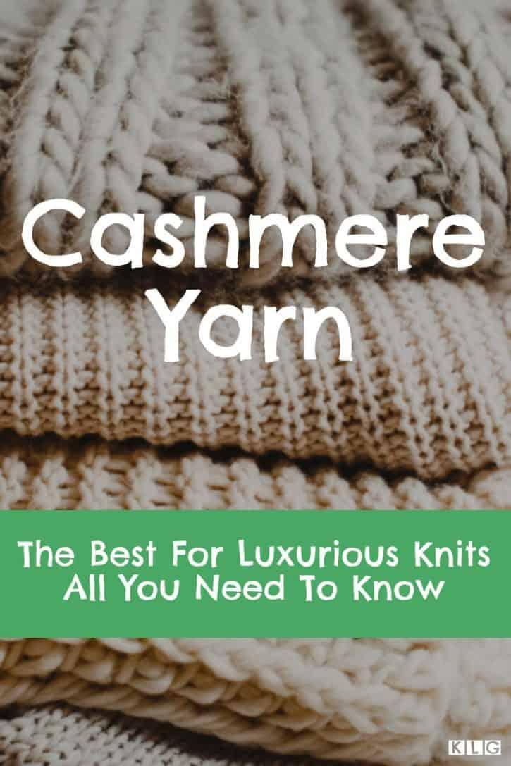 KLG Cashmere Yarn Pin