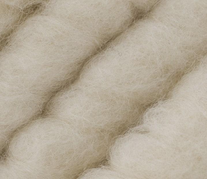 Loopy Mango Big Loop Merino Yarn in white