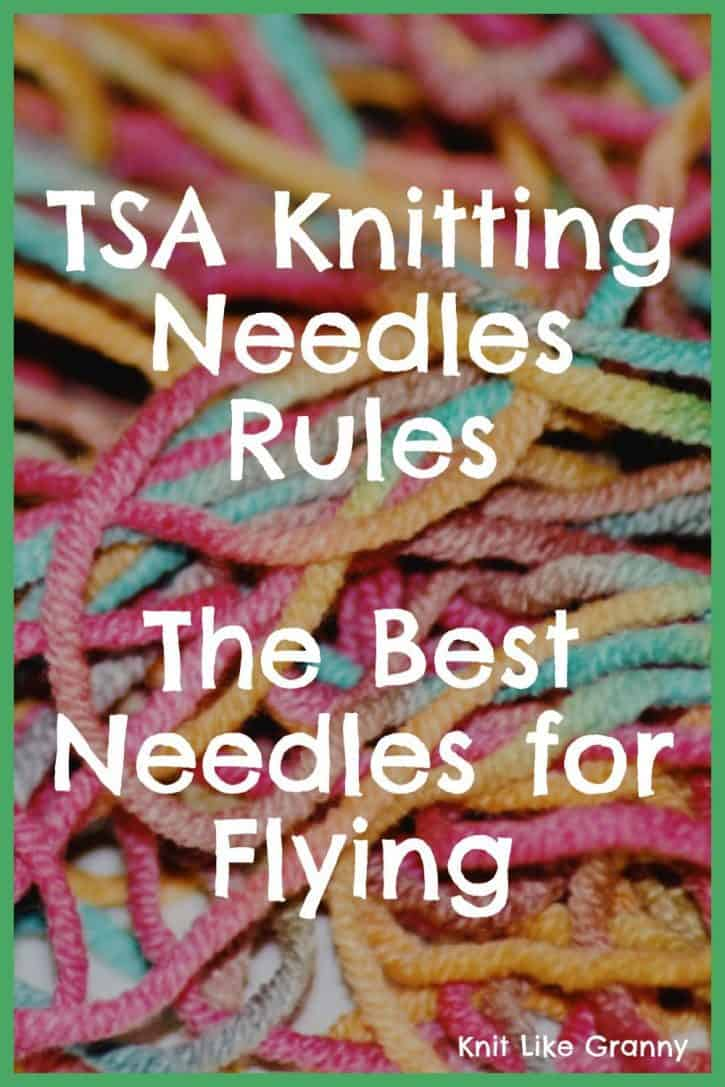Best Knitting Needles For Flying Pin