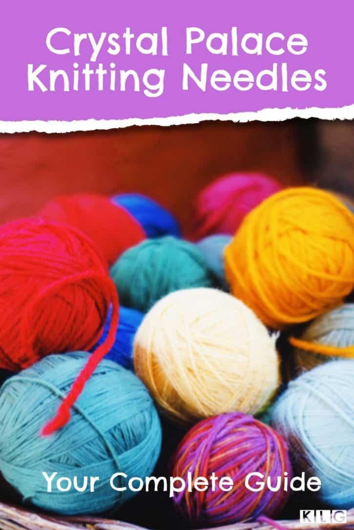 Crystal Palace Knitting Needles Pin