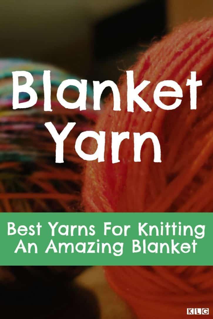 KLG Blanket Yarn Pin