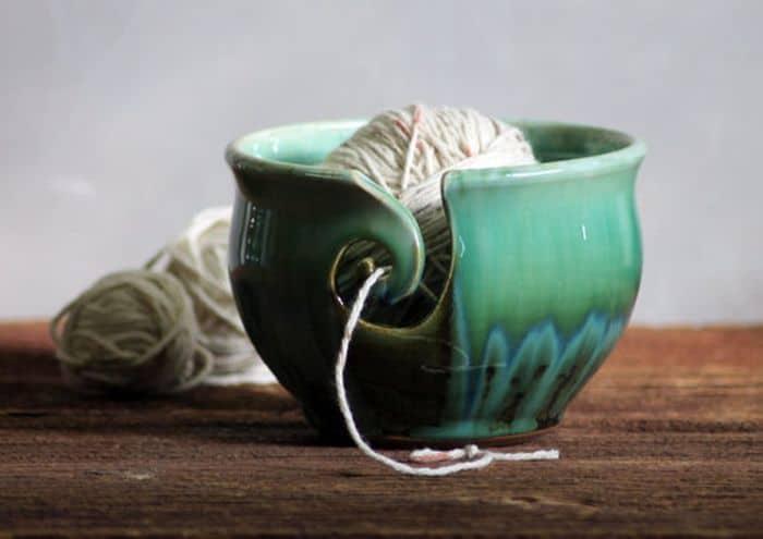 Rainbow Trout Yarn Bowl