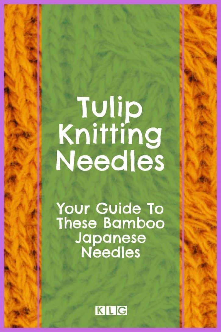 Tulip Knitting Needles Pin